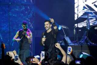 Mashrou' Leila under en koncert i hjemlandet Libanon sidste år.