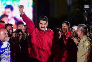 Venezuelas præsident Nicolás Maduro.