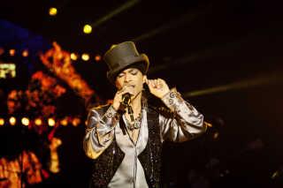 En af årets helt store nyheder, da musikeren Prince i april blev fundet død i sit hjem, blev flittigt læst på dr.dk. (Foto: Andreas Beck/Scanpix 2011)