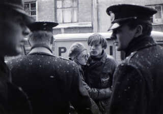 Britta Lillesøe og Jesper Sølling var kærester, da Sofiegården blev ryddet i februar 1969.
