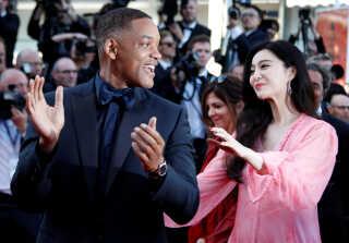Fan Bingbing var en del af juryen til filmfestivalen i Cannes i 2017 - blandt andre sammen med Will Smith.