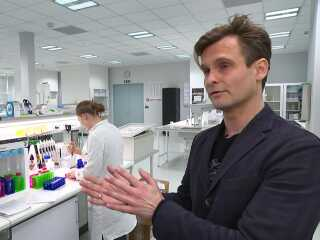 Direktør og stifter Peter Holme Jensen, Aquaporin.