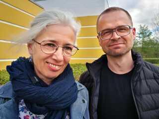 Iben Bohr og Lars Philip Nielsen.