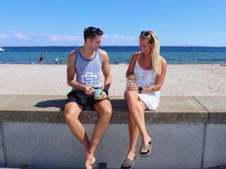 Selv om Patrick Snowman og Line Hansen har været meget glade for at bo i København, er de klar til at flytte væk fra hovedstaden for at få mere tid og plads - og få familien tæt på.