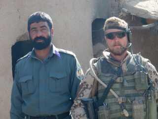 Farid fra det afghanske kunne forklare Martin, hvordan politistyrkerne balancerede mellem Taleban, narkohandlere og de danske soldater.