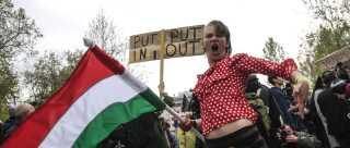 Hele april har der været protester mod universitetsloven i Ungarn.