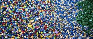 Det er 60 år siden, at Lego tog patent på den populære klods. (Foto: Ida Guldbæk Arentsen/Scanpix 2017)