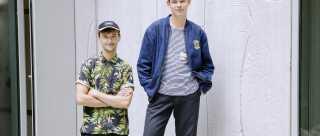 22-årige Anders Ugilt (tv.) og 19-årige Alexander Kjær (th.) sprang begge ud for få år siden.