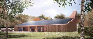 Det nye krematorie i Aabenraa skal stå færdig i 2020, og her vil pårørende have mulighed for at se, når kisten bliver sat ind i ovnen.
