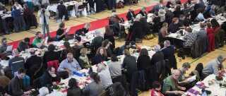 Enhedslisten er denne weekend samlet til årsmøde i Korsgadehallen på Nørrebro i København.