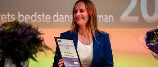 Maren Uthaug modtog i dag DR Romanprisen, som blev uddelt på Dokk1 i Aarhus.
