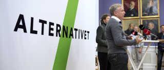 27. november 2013 præsenterede Uffe Elbæk og Josephine Fock deres nye parti, Alternativet. I dag har Josephine Fock forladt Folketinget, mens Uffe Elbæk har spillet sig selv på banen som statsministerkandidat.