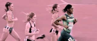Caster Semenya er altdominerende på 800 meter, men hendes dominans er truet af et ønske om nye regler for kvindelige atleters testosteronniveauer.