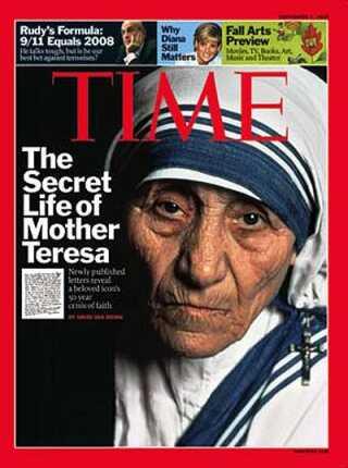 Det skabte overskrifter verden over, da en gruppe canadiske forskere i 2013 udgav rapporten 'Den mørke side af Moder Teresa'. Rapporten bygger på 502 dokumenter om Moder Teresas liv og arbejde, hvilket svarer til 96 procent af al den litteratur, der findes om hende.