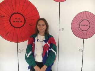 Augusta Fleischer går i 9. klasse på Skolen ved Søerne. Hun siger, at det er fortidligt at vælge en bestemt retning, derfor vælger hun i stedet for gymnasiet