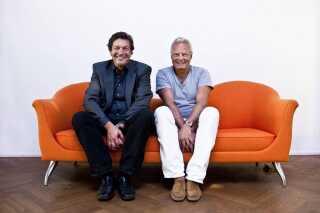 Jarl Friis-Mikkelsen og Ole Stephensen blev i 1980'erne kendte for deres Walter og Carlo-film.