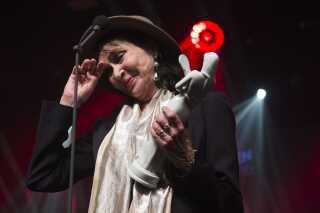 Anna Karina vinder Æresbodil ved Bodilprisen 2016.