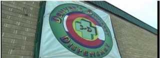 """Billede fra et cannabis """"dispensary"""" i Denver, Colorado, hvor borgerne kan få udleveret medicinsk cannabis."""