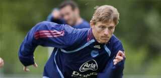 Jon Dahl Tomasson har det bedste målsnit i den danske trup med 0,51 mål per kamp
