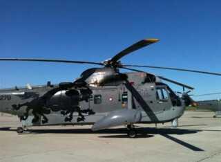 Sikorsky S-61 Sea King - fotograferet i formiddag lige inden den sidste tur onsdag den 16. juni 2010