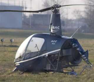 En helikopter styrtede ned i Billund Lufthavn. Heldigvis kom ingen alvorligt til skade