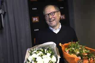 Steffen Gram fik en særudgave af DRs sprogpris.