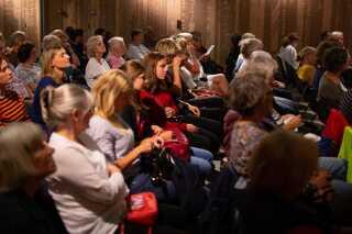 Uddelingen af DR Romanprisen fandt sted som en del af programmet for litteraturfestivalen LiteratureXchange i Aarhus.