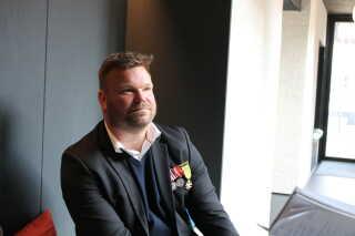 Kenneth Henriksen er en af de veteraner, der gør brug af hjemme.