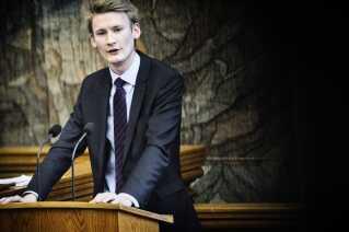 Peter Kofod Poulsen, retsordfører for Dansk Folkeparti.