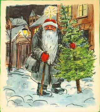 'Den Gamle Jul'  fra 'Peters Jul'.