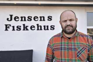 Ejer af Jensens Fiskerestaurant i Sæby, Jacob Jensen. (Arkivfoto)