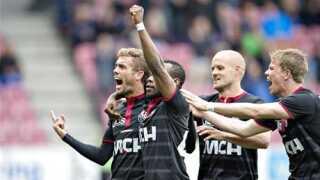 FC Midtjylland førte Superligaen inden midtugens runde.