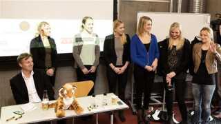 Nanna Friis, Sofie Bloch, Christina Krogshede, Simone Spur, Pernille Larsen og Søs Søby blev præsenteret som nye spillere i København Håndbold.