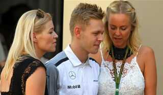 Kevin Magnussen under weekendens løb i Abu Dhabi.