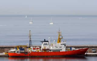 Aquarius har ligget i havnen i Marseille siden september.