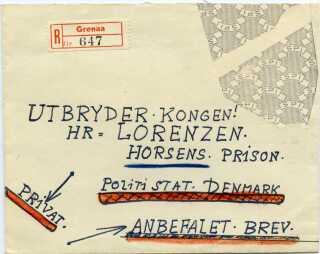 Da Lortenzen opnåede berømmelse i forbindelse med sin flugt, så modtag han derefter en del post.