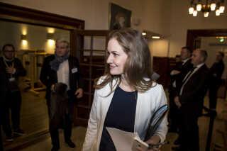 Maria Reumert Gjerding har allerede forladt Folketinget til fordel for Danmarks Naturfredningsforening.