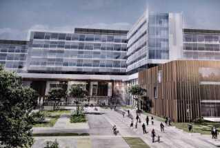 Regionens nye storsygehus i Aalborg ventes at stå klart til brug i år 2020. Byggeriet er budgetteret til at koste 4,1 milliarder kroner.