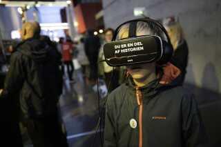 VR-event med børn og unge