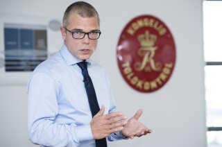 Jesper Rønnow var direktør i Skat, imens milliardsvindlen stod på. Han blev sidenhen fyret.