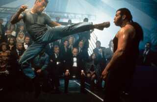 Jean-Claude Van Damme i filmen 'Kickboxer' fra 1991.
