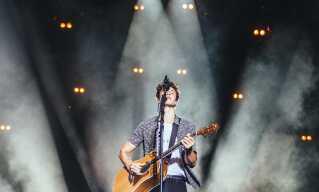 Shawn Mendes på årets Smukfest.