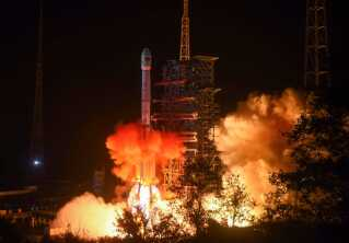 Raketten som var transportmidlet for Chang'e-4 blev affyret den 8. december fra Xichang affyringscenter i Kinas Sichuan provins.