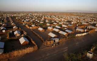 Sådan bor flygtningene i lejren Kakuma i Kenya.