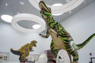 LEGO House slår I dag, torsdag den 28. september, dørene op til et nyt kreativt oplevelseshuse I Billund.