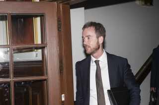 Miljø -og fødevareminister Esben Lunde Larsen (V) fik frataget fiskeriområdet efter skandalesagen med ministeriets håndtering af fiskekvoter.