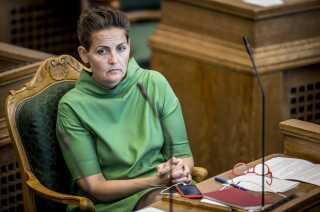 SF-formand Pia Olsen Dyhr opfordrer til sammenhold i rød blok og forsikrer, at SF peger på Mette Frederiksen som statsminister.