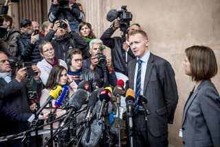 Både i byretten og landsretten blev Peter Madsen tidligere på året idømt fængsel på livstid -  den strengeste straf - for drabet på Kim Wall. Pressefremmødet var stort.