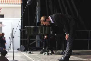William Jønch Pedersen efter koncerten i forbindelse med operafestivalen i København.