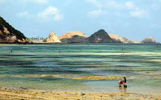 På øen Lombok får du vandet, strandene og palmerne for dig selv, for turisterne har endnu ikke opdaget stedets charme.
